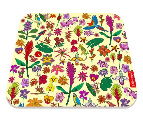Selina-Jayne Tropical Flowers Limited Edition Designer Mouse Mat